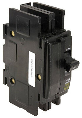 Square D Qou260 60a 120240v 5060hz 2 Pole Circuit-breaker Din Mount