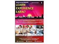 Pre Apprenticeship & Apprenticeship Available (immediate Start)