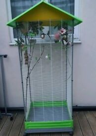 NEW Parrot Bird Aviary Cage For Sale [Suitable For Budgie/Cockatiel/Ringneck/Lovebird/Canary/Finch]