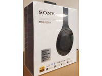 Sony MDR-1000X Wireless Noise Cancelling Headphones - Black-NEW ORIGINAL cheapest price