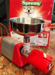 SPREMY electric tomato strainer - made in Italy by Imperia