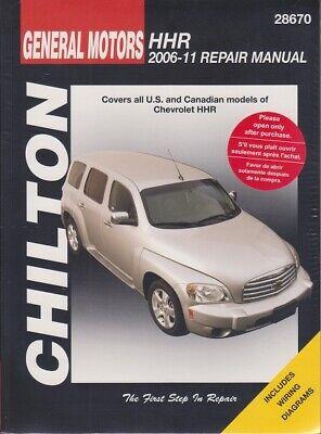 2006 2008 2009 2010 2011 Chevrolet HHR Chiltons Repair Service Shop Manual 20050
