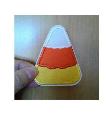 Candy Corn - Fall - Halloween - Sweets - Embroidered Iron On Patch
