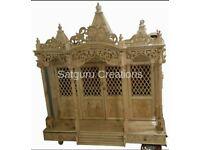 Home furniture,Teakwood furniture,Indian Handicraft,Home decor,Krishna altar,Indian grocery shop