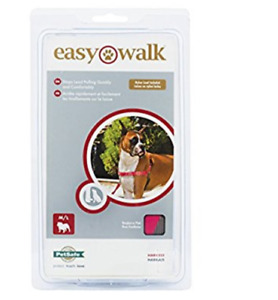 Petsafe easy walk  no pull harness Raspberry pink with leash