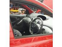 Toyota yaris breaking y reg 1.3