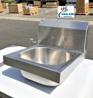 New 15 Stainless Steel Hand Sink Commercial Kitchen Restaurant Bar Utility Nsf