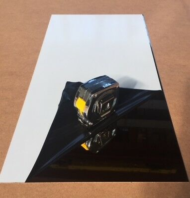 20 Ga Stainless Steel Mirror Sheet X 12 X 24 - 8 Finish With Pvc