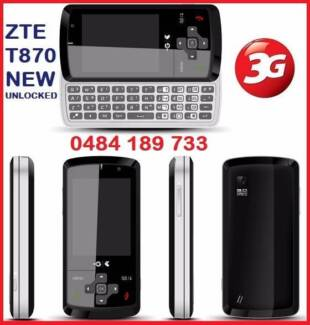 NEW 3G ZTE GLIDE T870 UNLOCKED O484 189 733 $50
