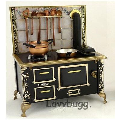 "Cooking Stove Della Robbia for 18"" American Girl Doll Kitchen Furniture"