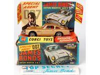 Diecast Cars (50s 60s) wanted - Spot on - Dinky - Corgi - Moorestone