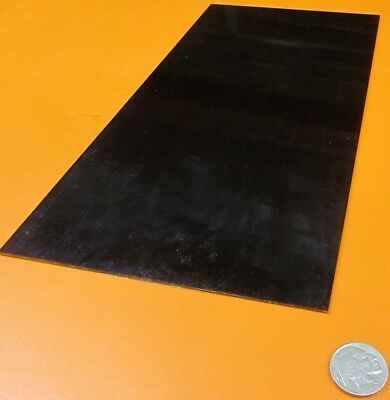 Blue Tempered Spring Steel Shim 0.062 Thick X 6.00 Width X 12 Length M