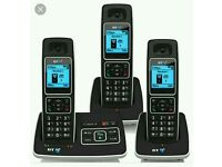 BT cordless phone trio Brand new Only £45