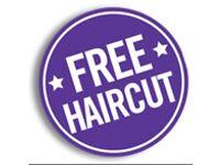 Free haircut at high end barbers