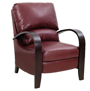 Aaron Red Reclining Accent Chair- The BRICK