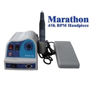 Dental-Lab-Marathon-N8-Micromotor-Polishing-45K-rpm-Handpiece-Micro-Motor-NEW