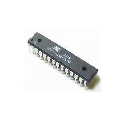 2pcs Atmega168-20pu Dip28 Atmel Ic Mcu 8bit 16kb Flash New