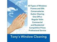 Tonys window cleaning
