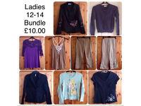 LADIES 12-14 BUNDLE OF WOMENS CLOTHES
