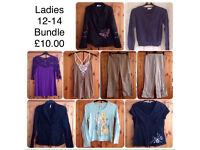 LADIES CLOTHES BUNDLE ~ SIZE 12-14