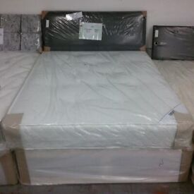 Brand New Comfy 4ft 3/4 Small Double Mattress and divan base FREE delivery