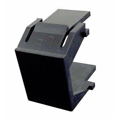 Faceplate Blank Insert - Lot50 Keystone BLANK Insert/Cover wall face plate/surface mount hole/jack${BLACK