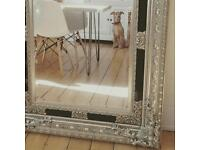MIRROR on SILVER Frame