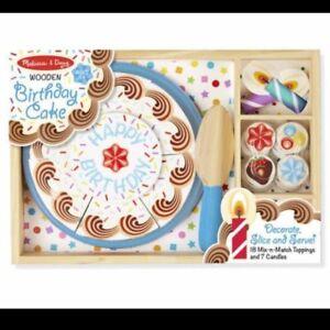 RECHERCHE gâteau en bois Melissa & Doug