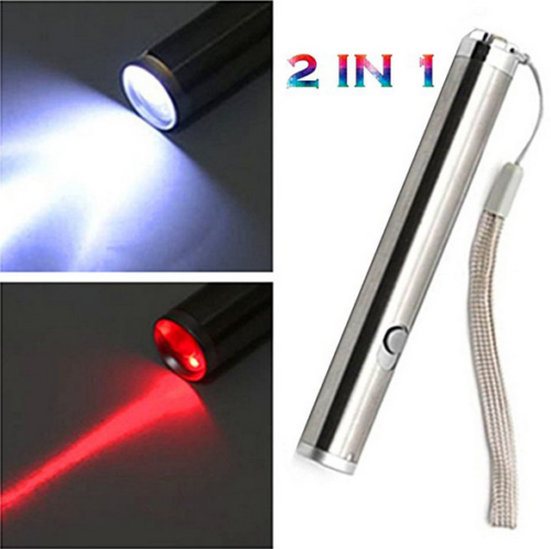 900Miles Assassin Red Laser Pointer Pen 650nm Funny Dog//Cat Toy Portable Lazer
