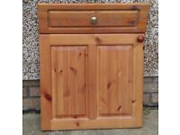 Kitchen Drawers and Door Fronts - Pine