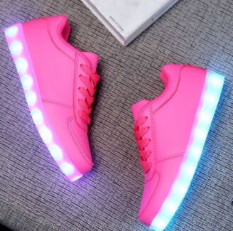 Size 2 girls light up shoes