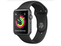 Apple Watch Series 1 42mm space grey, black sport band