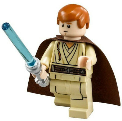 NEW LEGO STAR WARS OBI-WAN KENOBI MINIFIG figure minifigure 75059 75092 (Lego Obi Wan Kenobi)
