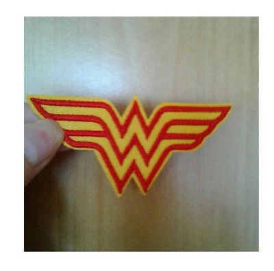Wonder Woman - Warrior Princess - Comics - Fantasy- Logo - Iron On Patch