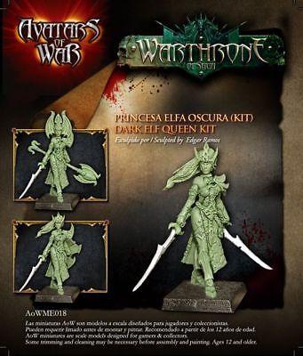 Avatars of War: Dark Elf Witch / Queen - AOW18 - Character