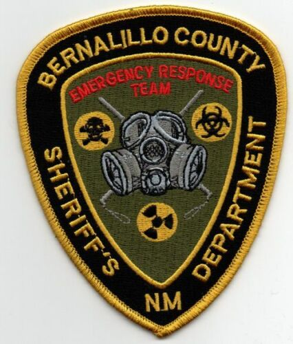NEW MEXICO NM BERNALILLO COUNTY SHERIFF EMERGENCY RESPONSE TEAM PATCH POLICE