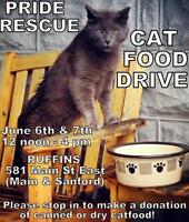 """Baby Male Cat - Domestic Short Hair: """"FERAL CAT FOOD DRIVE"""""""