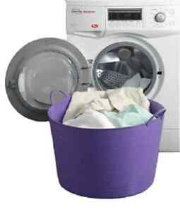 40-LITRE-LTR-LARGE-LAUNDRY-BASKET-STORAGE-TUB-FLEXI-BUCKET-BASKET