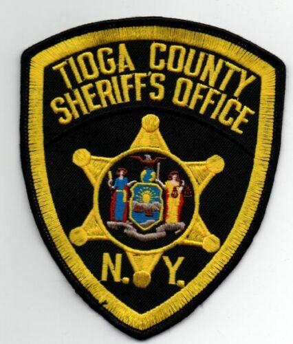 NEW YORK TIOGA COUNTY SHERIFF NICE PATCH POLICE