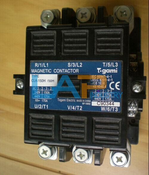 1PCS new For TOGAMI AC contactor CLK-150H AC110V CLK150H