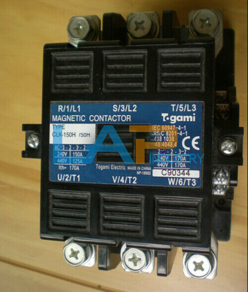 1PCS new For TOGAMI AC contactor CLK-150H AC380V  CLK150H