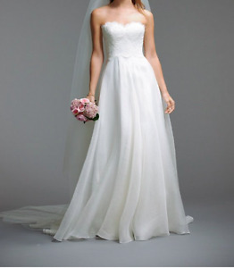 Waters Bride Ivory a-line wedding dress