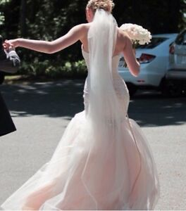 Size 6 BLUSH Wedding Dress by Maggie Sottero