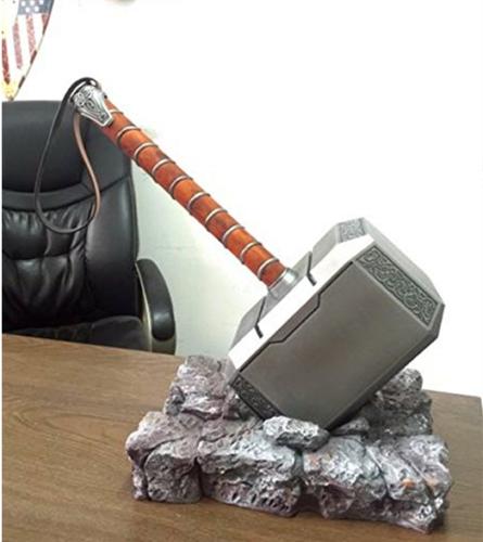 us 1 1 full solid avengers thor hammer replica prop mjolnir resin
