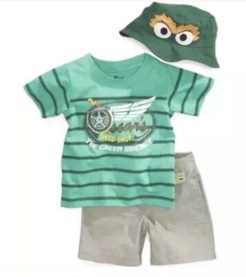 Nannette (Brand New) Sesame Street Baby Boys 3-Pc Set Nannette Baby Set