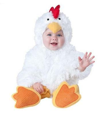 Chicken Halloween Baby Costumes Dress Pure White Suit Outfit Unisex Lovely Gift (Pure Halloween Costumes)