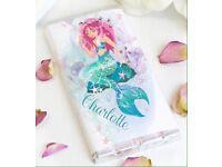 Personalised mermaid chocolate