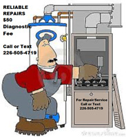 Furnace Fireplace Boiler Heating Repairs $50 Diagnostic Fee
