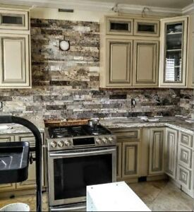 Experienced & Affordable: Feature Walls & Backsplashes