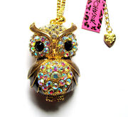 Betsey Johnson Owl